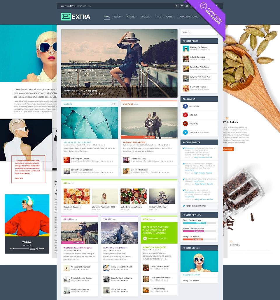 Extra v2.19.15 - Elegantthemes Premium WordPress主题