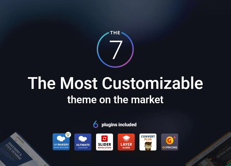 The7 v7.4.2 – 适用于WordPress的多功能网站构建工具包