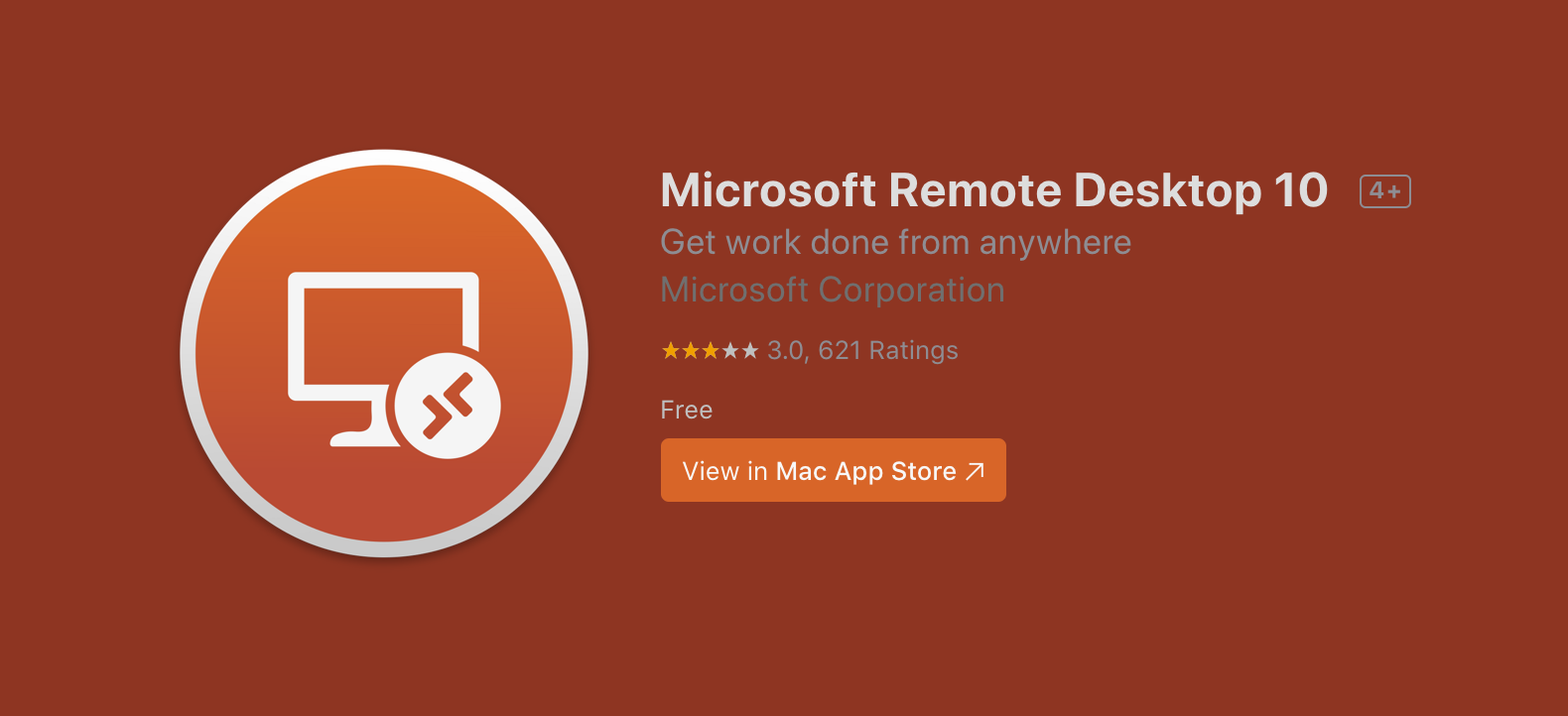 Mac 远程控制 Windows 软件 Microsoft Remote Desktop 10 汉化说明