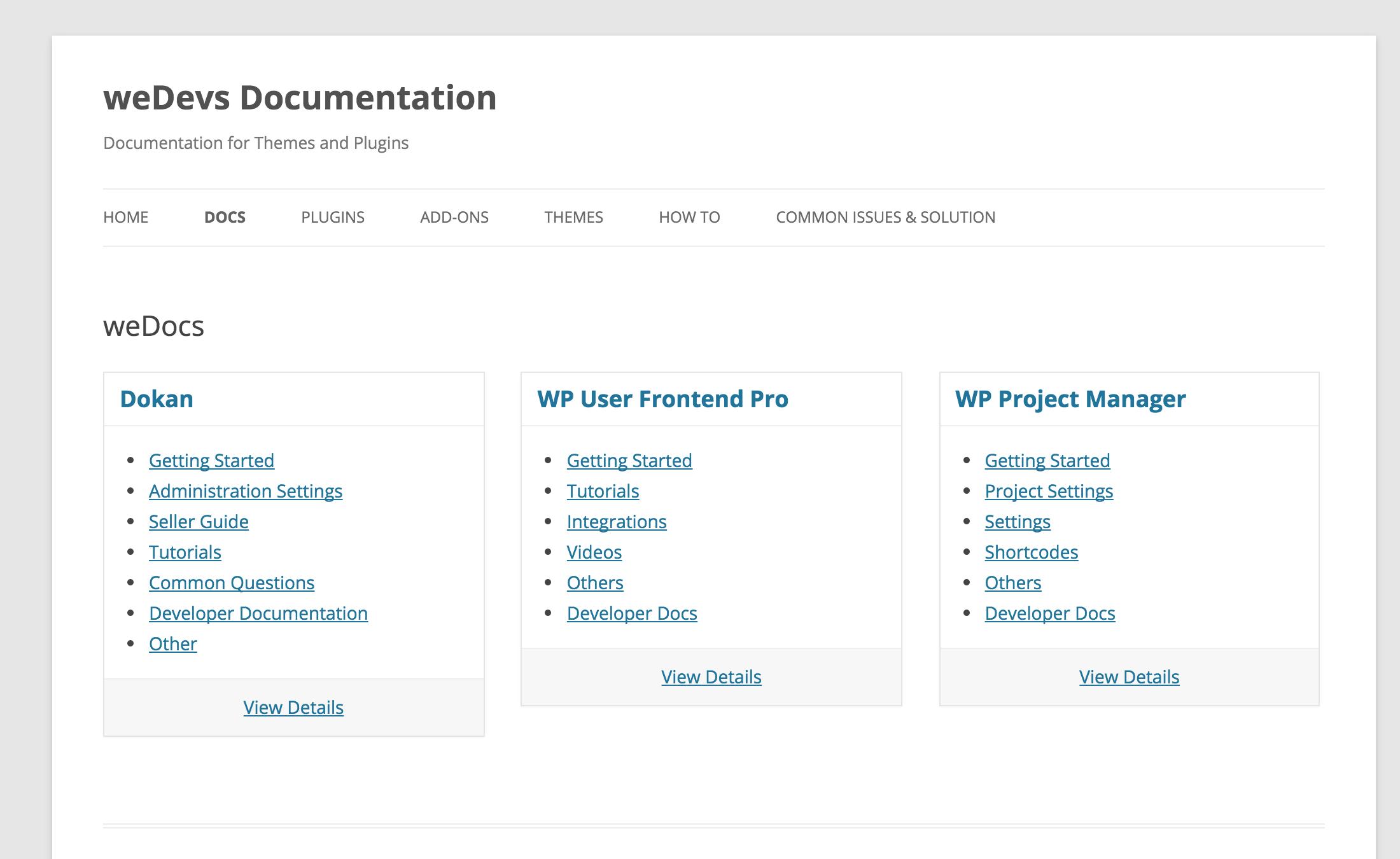 WordPress 帮助文档插件「weDocs」中文汉化包