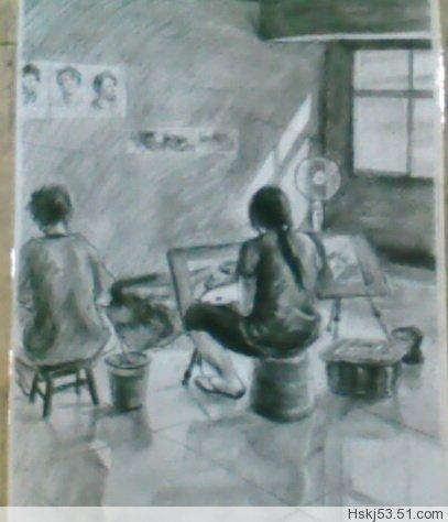 记录曾经的绘画时光